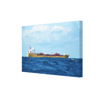 Tanker Stolt Inspiration At Sea Canvas Print