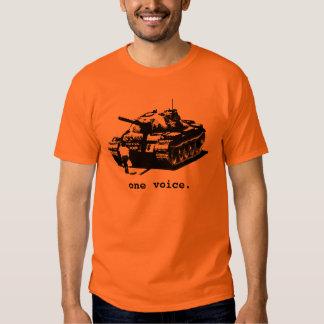 Tankman - black and white t shirt