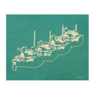 Tankman Wood Print