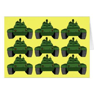 Tanks A Lot! Card