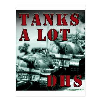 Tanks A Lot DHS Postcard