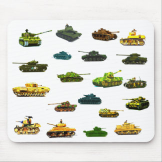 Tanks a Lot Mousematt Mouse Pad
