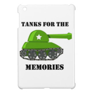 Tanks for the Memories Cover For The iPad Mini