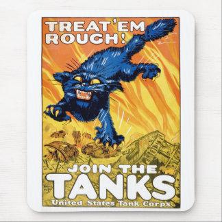 Tanks Mouse Pad