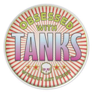 Tanks Obsessed R Dinner Plate
