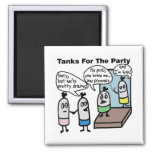 Tanks Party Magnet