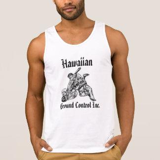Tanktop con el logotipo Hawaiian Ground Control Playera De Tirantes