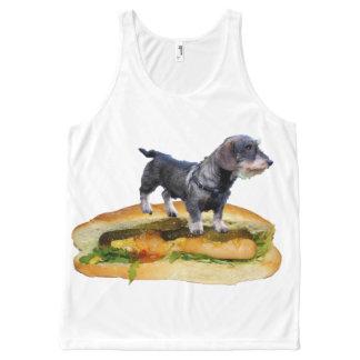 Tanktop con un perro en él