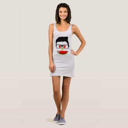 "Tanktop dress ""FRUIT NERD """