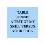 tanle tennis post cards