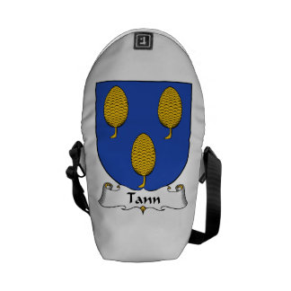 Tann Family Crest Messenger Bag