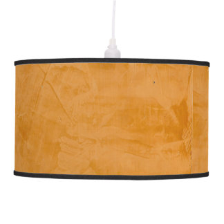 Tanned Leather Faux Finish Lamps