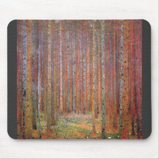 Tannenwald I by Gustav Klimt Mouse Pad