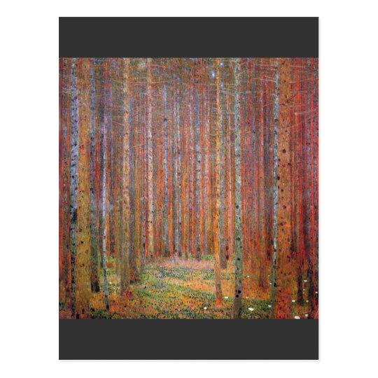 Tannenwald I by Gustav Klimt Postcard