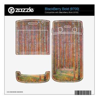 Tannenwald I by Gustav Klimt BlackBerry Skins