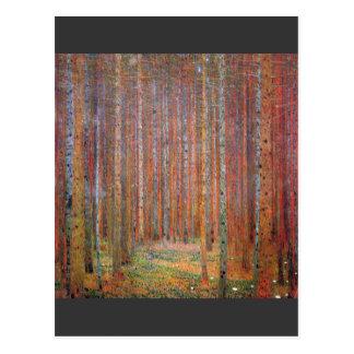 Tannenwald I de Gustavo Klimt Postales