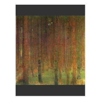 Tannenwald II de Gustavo Klimt Postales
