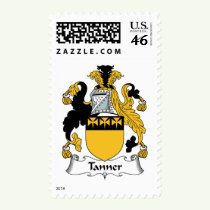 Tanner Family Crest Stamps