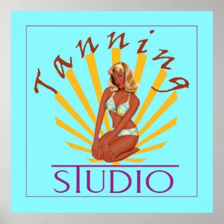 Tanning Studio - Poster