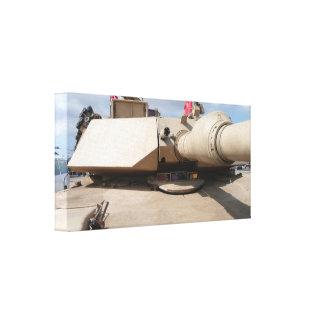 Tanque de batalla principal de M1A2 Abrams Lienzo Envuelto Para Galerias