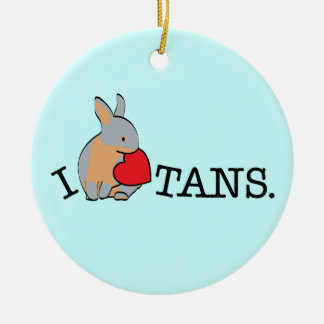 TANS! - BLUE CHRISTMAS ORNAMENT