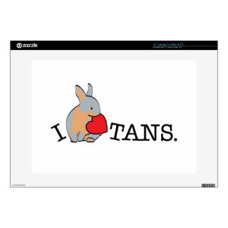 TANS! - BLUE DECALS FOR LAPTOPS