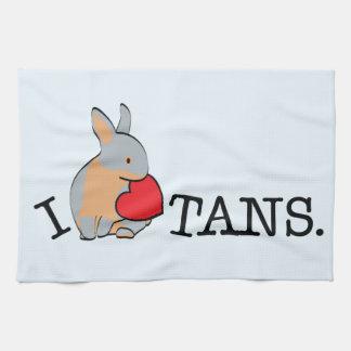 TANS! - BLUE HAND TOWELS
