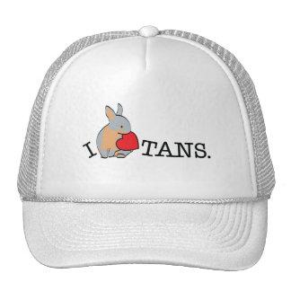 TANS - BLUE TRUCKER HAT