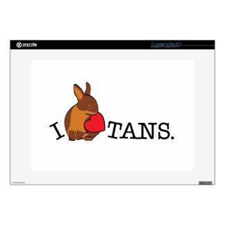 "TANS! - CHOCOLATE 15"" LAPTOP SKINS"
