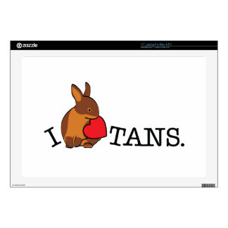 "TANS! - CHOCOLATE 17"" LAPTOP SKINS"