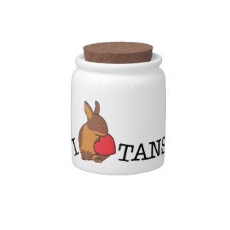 TANS! - CHOCOLATE CANDY DISH