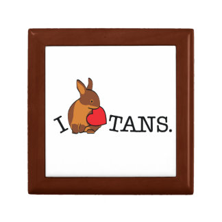 TANS - CHOCOLATE JEWELRY BOXES