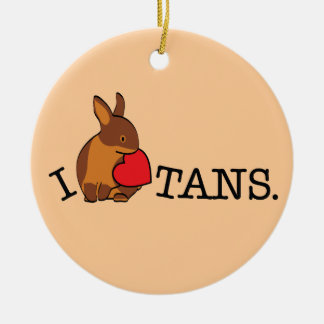 TANS! - CHOCOLATE ORNAMENTS