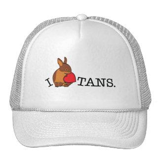 TANS - CHOCOLATE TRUCKER HAT