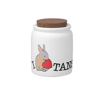 TANS! - LILAC CANDY JAR