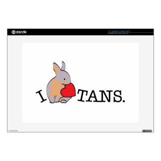 TANS! - LILAC LAPTOP DECAL