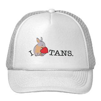 TANS - LILAC MESH HATS