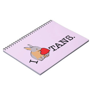 TANS! - LILAC NOTE BOOKS