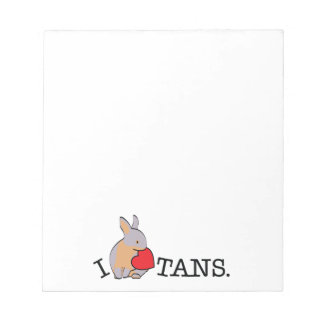 TANS! - LILAC NOTE PADS