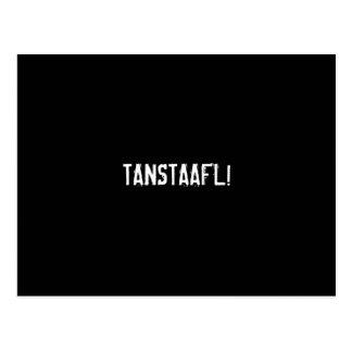 TANSTAAFL! POSTCARD