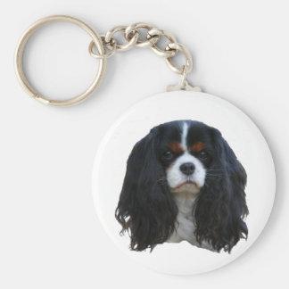 Tansy Basic Round Button Keychain