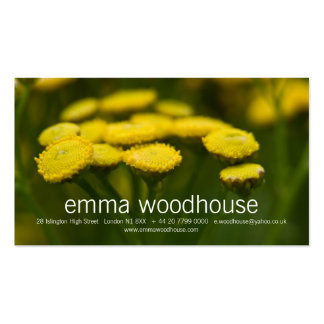 Tansy Double-Sided Standard Business Cards (Pack Of 100)
