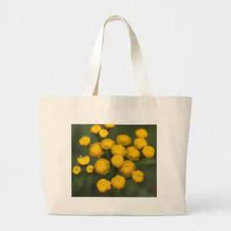 Tansy Tanacetum vulgare Large Tote Bag