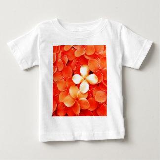 Tantalizing Tangerine Orange Blossoms Nature Flora Baby T-Shirt