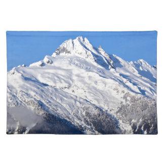Tantalus mountain in British Columbia, Canada Placemat
