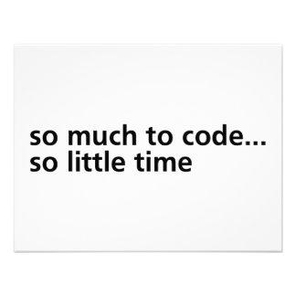 Tanto al código… invitaciones personalizada