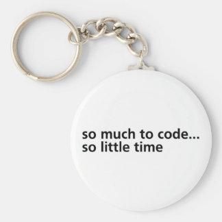 Tanto al código… llavero redondo tipo pin