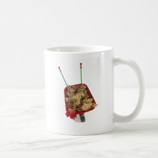 tanto depende de una carretilla roja taza de café