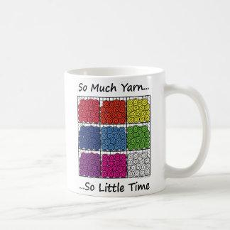 Tanto hilado, tan poca hora taza de café