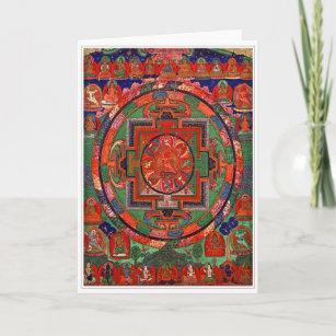 Buddhist cards zazzle tantric buddhist mandala greeting card m4hsunfo